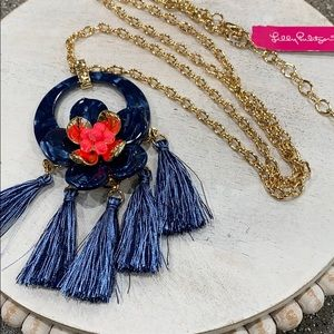 Lilly Pulitzer High Tide Maritime Necklace, New